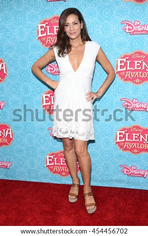 """LOS ANGELES - JUL 16:  Constance Marie arrives to the Disney Channel's """"Elena of Avalor"""" Los Angeles Premiere on July 16, 2016 in Beverly Hills, CA                 - stock photo"""
