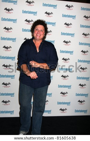 LOS ANGELES - JUL 23:  Dot Marie Jones arriving at the EW Comic-con Party 2011 at EW Comic-con Party 2011 on July 23, 2011 in Los Angeles, CA - stock photo