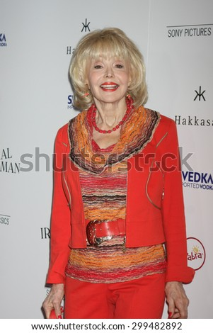 "LOS ANGELES - JUL 9:  Francine York at the ""Irrational Man"" Los Angeles Premiere at the Writer's Guild of America Theater on July 9, 2015 in Beverly Hills, CA  - stock photo"