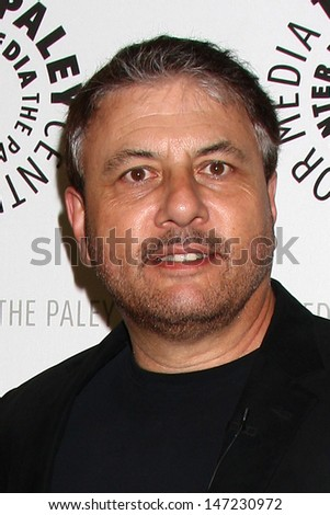 """LOS ANGELES - JUL 16:  Gary Levine arrives at  """"An Evening With Web Therapy: The Craze Continues..."""" at the Paley Center for Media on July 16, 2013 in Beverly Hills, CA - stock photo"""