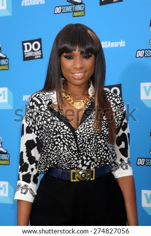 LOS ANGELES - JUL 31:  Jennifer Hudson arrives at the 2013 Do Something Awards at the Avalon on July 31, 2013 in Los Angeles, CA - stock photo