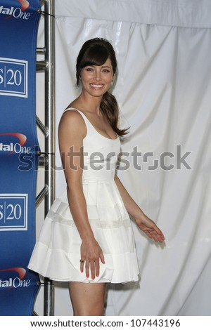 LOS ANGELES - JUL 11: Jessica Biel in the press room during the 2012 ESPY Awards at Nokia Theater L.A. Live on July 11, 2012 in Los Angeles, California - stock photo