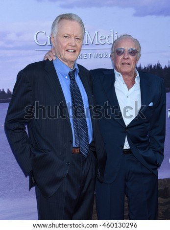 LOS ANGELES - JUL 27:  Jon Voight and James Caan arrives to the Hallmark Channel, Hallmark Movies and Mysteries Summer 2016 TCA Press Tour Event on July 27, 2016 in Beverly Hills, CA