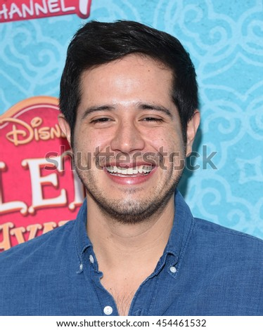"""LOS ANGELES - JUL 16:  Jorge Diaz arrives to the Disney Channel's """"Elena of Avalor"""" Los Angeles Premiere on July 16, 2016 in Beverly Hills, CA                 - stock photo"""