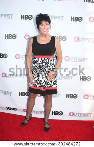 "LOS ANGELES - JUL 11:  Joyce DeWitt at the ""Tab Hunter Confidential"" at Outfest at the Directors Guild of America on July 11, 2015 in Los Angeles, CA - stock photo"