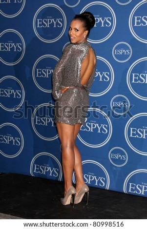LOS ANGELES - JUL 13:  Kerry Washington in the Press Room of the 2011 ESPY Awards at Nokia Theater at LA Live on July 13, 2011 in Los Angeles, CA