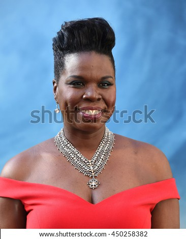 "LOS ANGELES - JUL 9:  Leslie Jones arrives to the ""Ghostbusters"" Los Angeles Premiere on July 09, 2016 in Hollywood, CA."