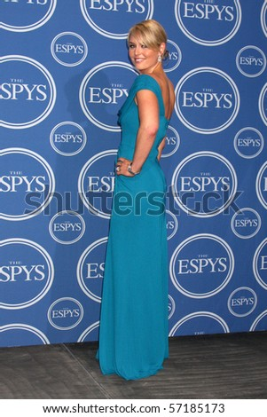 LOS ANGELES - JUL 14:  Lindsey Vonn  in the Press Room of the 2010 ESPY Awards at Nokia Theater - LA Live on July14, 2010 in Los Angeles, CA ....