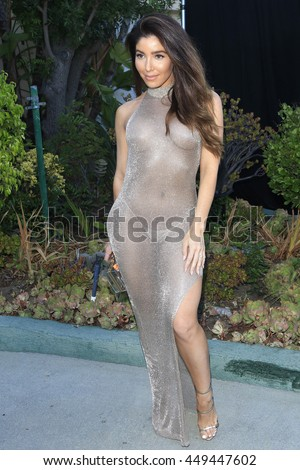 LOS ANGELES - JUL 7: Melissa Molinaro at the prettylittlething.com launch party at a private residence on July 7, 2016 in Los Angeles, California - stock photo