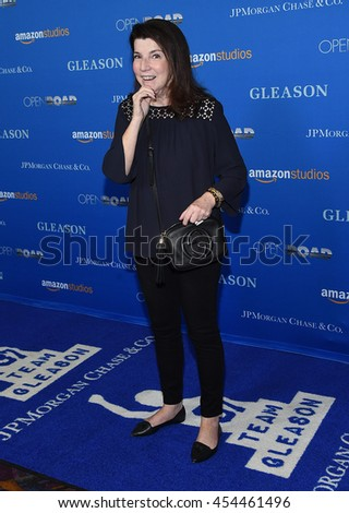 """LOS ANGELES - JUL 14:  Nanci Ryder arrives to the """"Gleason"""" Los Angeles Premiere on July 14, 2016 in Los Angeles, CA                 - stock photo"""