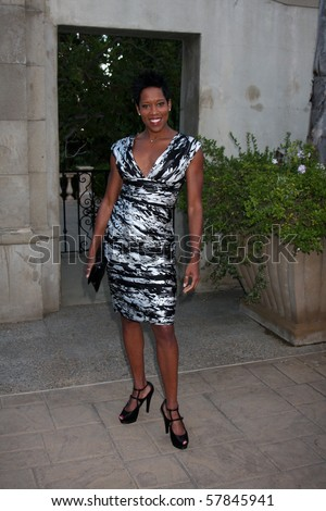 LOS ANGELES - JUL 24:  Regina King arrives at  the 12th Annual HollyRod Foundation DesignCare Event at Ron Burkle's Green Acres Estate on July24, 2010 in Beverly Hills, CA ....
