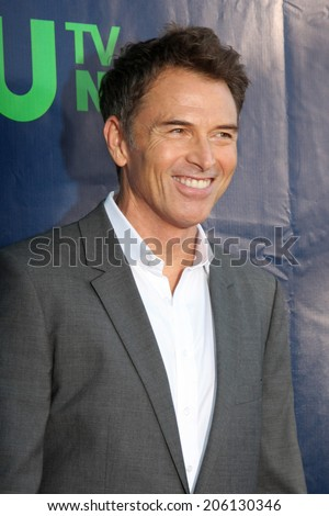 LOS ANGELES - JUL 17:  Tim Daly at the CBS TCA July 2014 Party at the Pacific Design Center on July 17, 2014 in West Hollywood, CA - stock photo