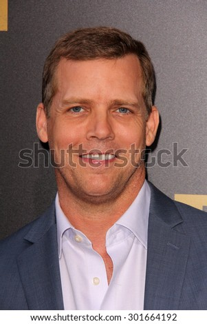 "LOS ANGELES - JUL 30:  Tim Griffin at the ""The Gift"" World Premiere at the Regal Cinemas on July 30, 2015 in Los Angeles, CA - stock photo"
