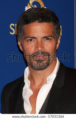 LOS ANGELES  JULY 8: Esai Morales arrives at the SHEN YUN PERFORMING ARTS SHOW Dorothy Chandler Pavilion on July 8, 2010 in Los Angeles, CA