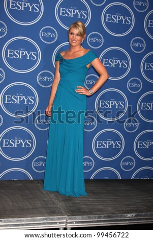 LOS ANGELES - JULY 14:  Lindsey Vonn in the Press Room of the 2010 ESPY Awards at Nokia Theater - LA Live on July 14, 2010 in Los Angeles, CA