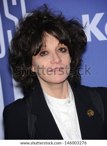 LOS ANGELES - JUN 12:  Amy Heckerling arrives to the Women In Film's 2013 Crystal + Lucy Awards  on June 12,2013 in Beverly Hills, CA                 - stock photo