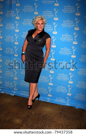 LOS ANGELES - JUN 17:  Anne Burrell in the Press Area at the 38th Annual Daytime Creative Arts & Entertainment Emmy Awards at Westin Bonaventure Hotel on June 17, 2011 in Los Angeles, CA