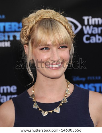 "LOS ANGELES - JUN 17:  Beth Behrs arrives to the '""Monsters University"" World Premiere  on June 17, 2013 in Hollywood, CA"