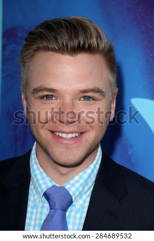 "LOS ANGELES - JUN 2:  Brett Davern at the ""Love & Mercy"" Los Angeles Premiere at the Academy of Motion Picture Arts & Sciences on June 2, 2015 in Los Angeles, CA - stock photo"