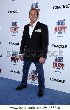 "LOS ANGELES - JUN 24:  Brian Clark at the ""Joe Dirt 2: Beautiful Loser"" Premiere at the Sony Studios on June 24, 2015 in Culver City, CA - stock photo"