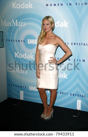 LOS ANGELES - JUN 16:  Brittany Snow arriving at the 2011 Women In Film Crystal + Lucy Awards  at Beverly Hilton Hotel  on June 16, 2011 in Beverly Hills, CA - stock photo