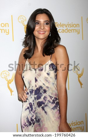 LOS ANGELES - JUN 19:  Camila Banus at the ATAS Daytime Emmy Nominees Reception at the London Hotel on June 19, 2014 in West Hollywood, CA - stock photo