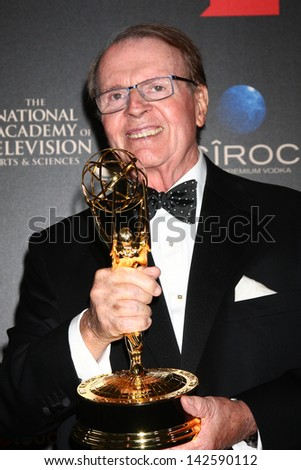 LOS ANGELES - JUN 16:  Charles Osgood in the press area at the 40th Daytime Emmy Awards at the Skirball Cultural Center on June 16, 2013 in Los Angeles, CA