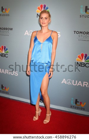 LOS ANGELES - JUN 16:  Claire Holt at the Aquarius Season 2 Premiere Screening Arrivals at the Paley Center For Media on June 16, 2016 in Beverly Hills, CA - stock photo