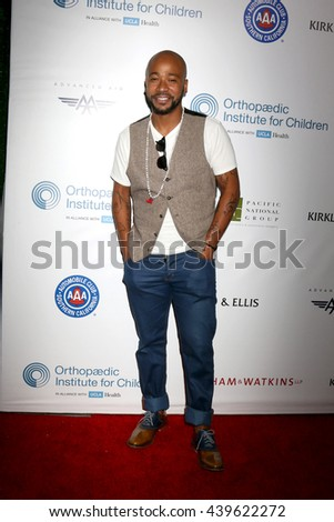 LOS ANGELES - JUN 18: Columbus Short at the Stand For Kids Gala at the Twentieth Century Fox Studios Lot on  ,  June 18, 2016 in Century City, CA - stock photo