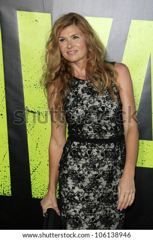 "LOS ANGELES - JUN 25:  Connie Britton arrives at the ""Savages"" Premiere at Village Theater on June 25, 2012 in Westwood, CA"