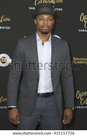 LOS ANGELES - JUN 2:  Cornelius Smith Jr at the Television Academy 70th Anniversary Gala at the Saban Theater on June 2, 2016 in North Hollywood, CA - stock photo
