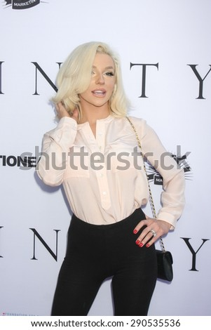 "LOS ANGELES - JUN 24:  Courtney Stodden at the ""Unity"" Documentary World Premeire at the Director's Guild of America on June 24, 2015 in Los Angeles, CA - stock photo"