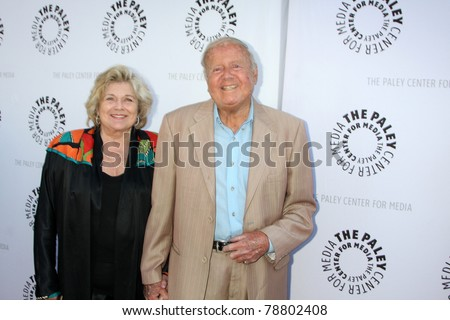 LOS ANGELES - JUN 7:  Dick Van Patten arrives at the Debbie Reynolds Hollywood Memorabilia Collection Auction & Auction Preview at Paley Center For Media on June 7, 2011 in Beverly Hills, CA - stock photo