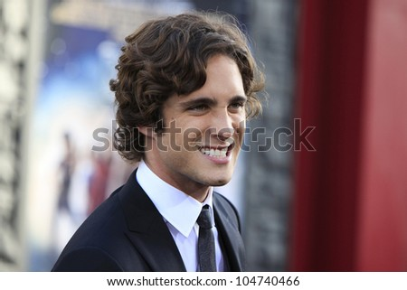 LOS ANGELES - JUN 8: Diego Boneta at the 'Rock of Ages' Los Angeles premiere held at Grauman's Chinese Theater on June 8, 2012 in Los Angeles, California