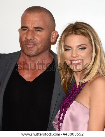 Dominic Purcell Stock Images, Royalty-Free Images ... Dominic Purcell And Annalynne Mccord