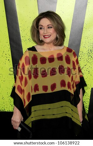 "LOS ANGELES - JUN 25:  Donna Pescow arrives at the ""Savages"" Premiere at Village Theater on June 25, 2012 in Westwood, CA"