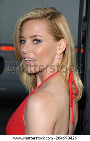 """LOS ANGELES - JUN 2:  Elizabeth Banks at the """"Love & Mercy"""" Los Angeles Premiere at the Academy of Motion Picture Arts & Sciences on June 2, 2015 in Los Angeles, CA - stock photo"""