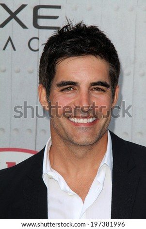 "LOS ANGELES - JUN 7:  Galen Gering at the Spike TV's ""Guys Choice 2014"" Awards at Sony Studios on June 7, 2014 in Culver City, CA"