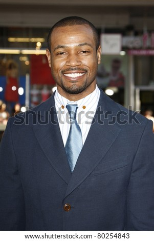 LOS ANGELES - JUN 30: Isaiah Mustafa at the Premiere of 'Horrible Bosses' at Grauman's Chinese Theatre on June 30, 2011 in Los Angeles, California