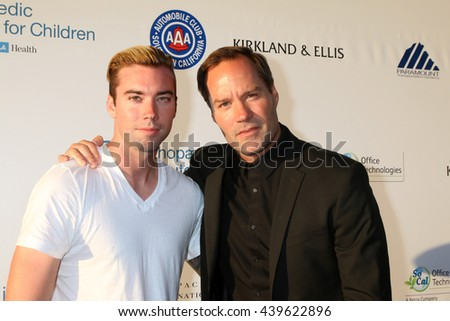 LOS ANGELES - JUN 18: Jesse Christopher, BoJesse Christopher at the Stand For Kids Gala at the Twentieth Century Fox Studios Lot on  ,  June 18, 2016 in Century City, CA - stock photo