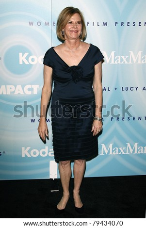 LOS ANGELES - JUN 16:  JoBeth Williams arrives at the 2011 Women In Film Crystal + Lucy Awards  at Beverly Hilton Hotel  on June 16, 2011 in Beverly Hills, CA - stock photo