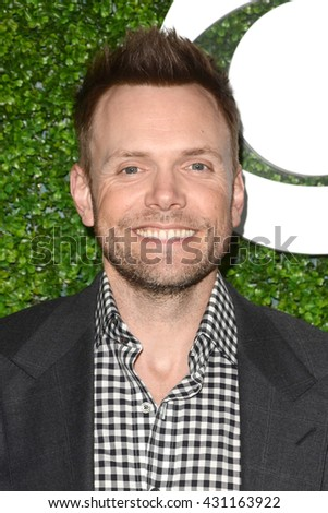 LOS ANGELES - JUN 2:  Joel McHale at the 4th Annual CBS Television Studios Summer Soiree at the Palihouse on June 2, 2016 in West Hollywood, CA - stock photo