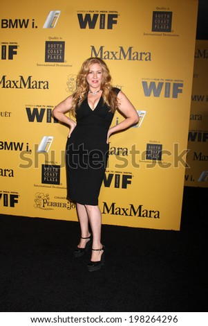 LOS ANGELES - JUN 11:  Joely Fisher at the Women In Film 2014 Crystal + Lucy Awards at Century Plaza Hotel on June 11, 2014 in Beverly Hills, CA - stock photo