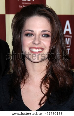 "LOS ANGELES - JUN 21:  Kristen Stewart arriving at ""A Better Life""  World Premiere Gala Screening t the 2011 Los Angeles Film Festival at Regal Cinemas L.A. LIVE on June 21, 2011 in Los Angeles, CA - stock photo"