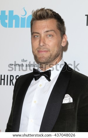 LOS ANGELES - JUN 13:  Lance Bass at the 7th Annual Thirst Gala at the Beverly Hilton Hotel on June 13, 2016 in Beverly Hills, CA - stock photo