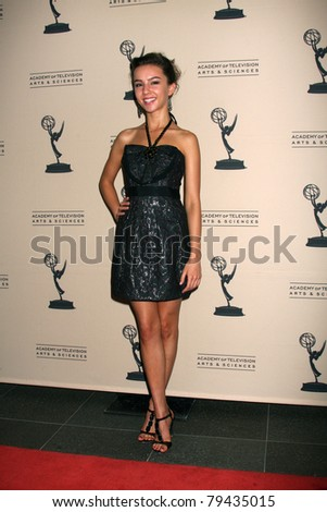 LOS ANGELES - JUN 16:  Lexi Ainsworth arrives at the Academy of Television Arts and Sciences Daytime Emmy Nominee Reception at SLS Hotel at Beverly Hills on June 16, 2011 in Beverly Hills, CA - stock photo