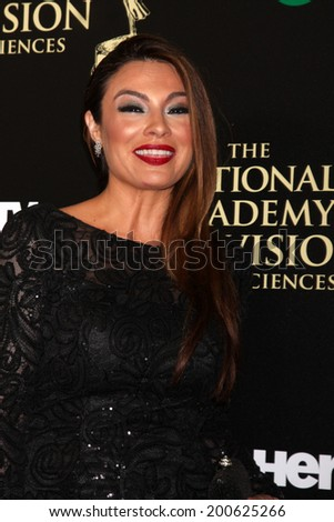 LOS ANGELES - JUN 22:  Lilly Melgar at the 2014 Daytime Emmy Awards Arrivals at the Beverly Hilton Hotel on June 22, 2014 in Beverly Hills, CA