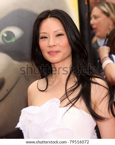 """LOS ANGELES - JUN 22:  Lucy Liu arrives to the """"Kung Fu Panda 2"""" Los Angeles Premiere  on June 22,2011 in Hollywood, CA - stock photo"""