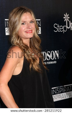 LOS ANGELES - JUN 5:  Maggie Lawson at the Step Up Women's Network 12th Annual Inspiration Awards at the Beverly Hilton Hotel on June 5, 2015 in Beverly Hills, CA - stock photo