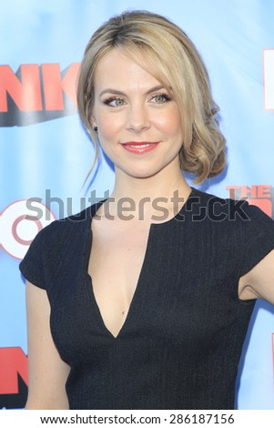 """LOS ANGELES - JUN 8:  Mary Faber at the HBO's """"The Brink"""" Premiere at the Paramount Studios on June 8, 2015 in Los Angeles, CA - stock photo"""